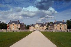 Chateau in Frankreich stockfoto