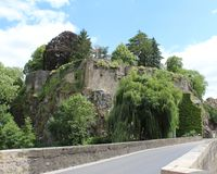 Chateau Fresnay Stock Photography