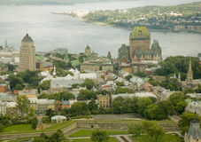 Chateau Frontenac 1 Royalty Free Stock Photo