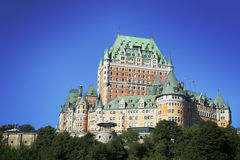 Chateau Frontenac Stock Image