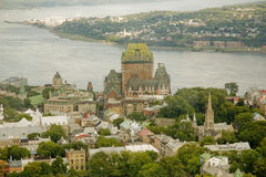Chateau Frontenac 2 Royalty Free Stock Images