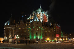 Chateau Frontenac Royalty Free Stock Photos