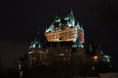 Chateau Frontenac Stock Photos