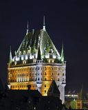 Chateau Frontenac Stockfotos