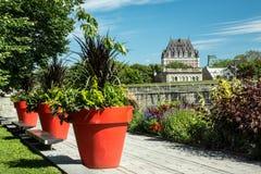 Chateau Frontenac Arkivbild