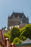 Chateau Frontenac Stock Afbeelding