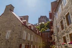 Chateau Frontenac Stock Afbeeldingen