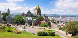 Free Chateau Frontenac Stock Images - 92185114
