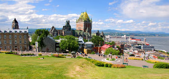 Free Chateau Frontenac Stock Images - 92185304