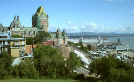 Chateau Frontenac Canada. Chateau Frontenac in Quebec City, Canada Royalty Free Stock Images
