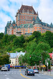Chateau Frontenac in the day Royalty Free Stock Photos