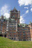 The Chateau Frontenac Royalty Free Stock Photography