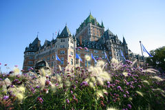 Chateau Frontenac Hotel. Stock Images