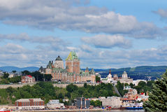 Chateau Frontenac of Old Quebec Royalty Free Stock Image