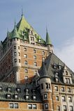 Chateau Frontenac - Quebec Cit Stock Photography