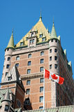 Chateau Frontenac in Quebec City Stock Photography