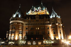 Chateau frontenac in quebec city Stock Photo