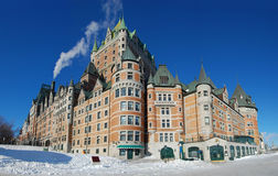 Chateau Frontenac, Quebec City, Canada Stock Photos