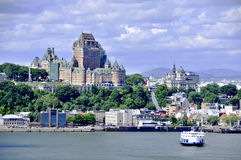 Chateau Frontenac Royalty Free Stock Photo