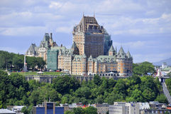 Chateau Frontenac Stock Photography