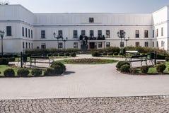 Chateau Frystat i den Karvina staden i Tjeckien Royaltyfri Foto