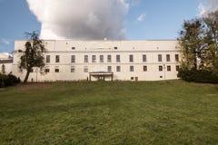 Chateau Frystat i den Karvina staden i Tjeckien arkivbild