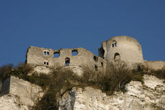 Chateau Gaillard Royalty Free Stock Image