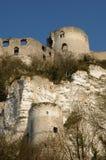 Chateau Gaillard Royalty Free Stock Photography