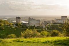 Chateau Gaillard Fotografering för Bildbyråer