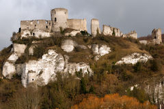 Chateau Gaillard Royalty Free Stock Photography