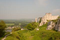 Chateau Gaillard Stock Image