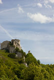 Chateau Gaillard scene Stock Photos