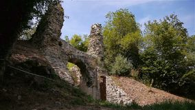 Chateau Ganne in Normandië stock videobeelden