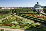 Chateau Garden in Kromeriz, Czech Republic Royalty Free Stock Images