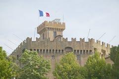 Chateau Grimaldi, Haut de Cagnes, France Royalty Free Stock Image
