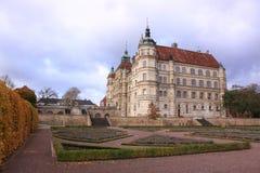 Chateau Gustrow royalty-vrije stock fotografie