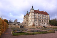 Chateau Gustrow. The Renaissance chateau Gustrow in Germany royalty free stock photography