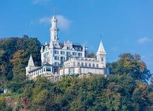 Chateau Gutsch hotel in Lucerne Stock Photos