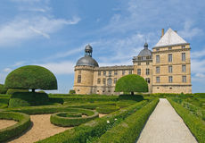 Chateau Hautefort, Dordogne, France Royalty Free Stock Photos