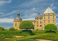 Chateau Hautefort, Dordogne, France Stock Photo