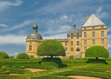Chateau Hautefort, Dordogne, France stock photo
