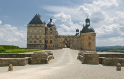 Chateau Hautefort, Dordogne, France Royalty Free Stock Images