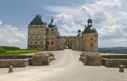 Chateau Hautefort, Dordogne, France royalty free stock images