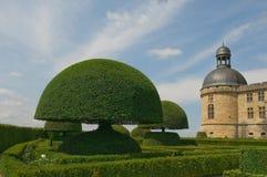 Chateau Hautefort, Dordogne, France Stock Image