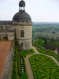 Chateau, Hautefort ( France ) royalty free stock images