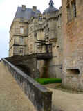 Chateau, Hautefort ( France ) Royalty Free Stock Photos