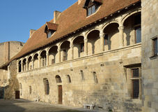 The chateau Henry IV at Nerac Royalty Free Stock Photos