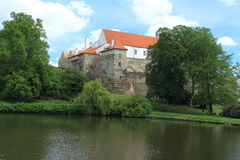 Chateau in Horsovsky Tyn. Czech Republic Royalty Free Stock Image