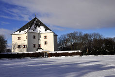 Chateau Hvezda Stock Photo