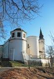Chateau i Frydek-Mistek Fotografering för Bildbyråer